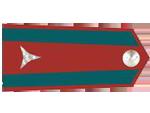 Výložky vrchního strížmistra četnictva z let 1930-37.