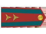 Výložky poručíka četnictva z let 1930-37.