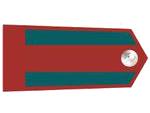 Výložky četníka bez hodnosti z let 19307-39.