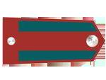 Výložky svobodníka četnictva z let 1937-39.