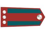Výložky četaře četnictva z let 1937-39.