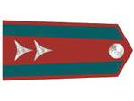 Výložky štábního strážmistra četnictva z let 1937-39.