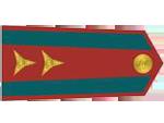 Výložky poručíka četnictva z let 1937-39.