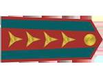 Výložky kapitána četnictva z let 1937-39.