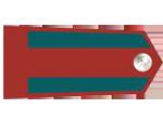 Výložky četníka bez hodnosti z let 1930-37.