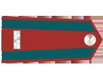 Výložky strážmistra četnictva z let 1930-37.