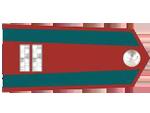 Výložky štábního strážmistra četnictva z let 1930-37.