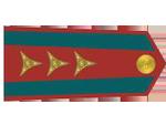 Výložky nadporučíka četnictva z let 1930-37.