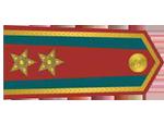 Výložky majora četnictva z let 1930-37.