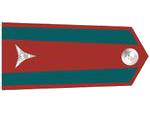 Výložky strážmistra četnictva z let 1937-39.