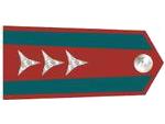 Výložky praporčíka četnictva z let 1937-39.
