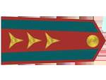 Výložky nadporučíka četnictva z let 1937-39.