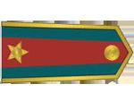 Výložky štábního kapitána četnictva z let 1937-39.